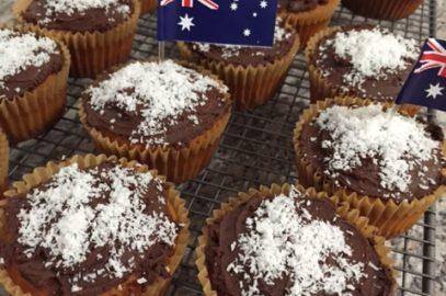 Cupcake Lamingtons